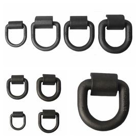 China Customized Safety D Rings Steel Heavy Duty Weld Forged Mounting Buckle distributor