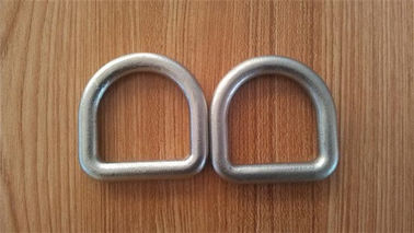 China High Strength Safety D Rings Zinc Plated Buckle D Rings With Hot Forged distributor