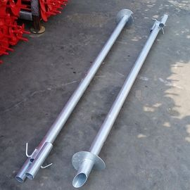 China 2000mm Galvanized Grounding And Earthing Products Ground Anchor Pipe distributor