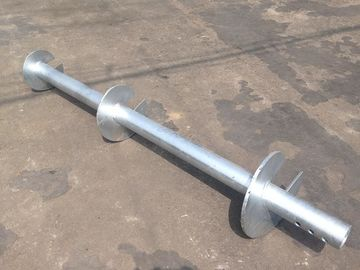 China Hot Dip Galvanized Helical Pier Systems For Underpinning Foundation distributor